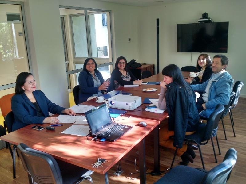 Reunión con líderes del Comité de Planificación Unidades Administrativas