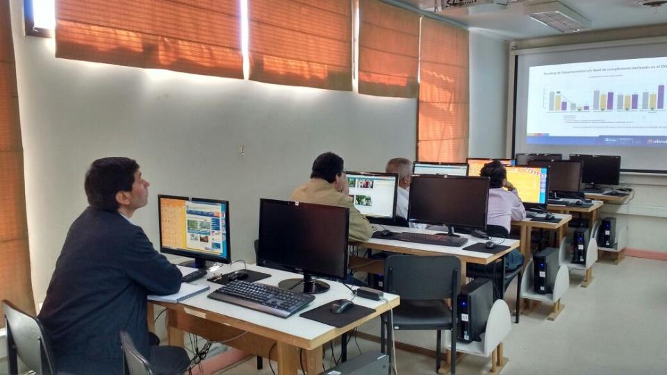 Dirección General de Planificación y Estudios capacita en seguimiento de planes